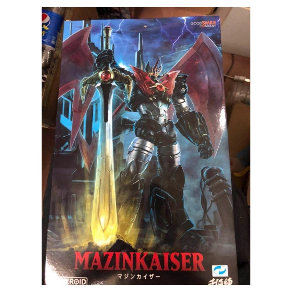 US $69 0 |Japan Anime Mazinger Z Figure Good Smile GSC MODEROID Mazinkaiser  Haou Plastic Model kit-in Action & Toy Figures from Toys & Hobbies on