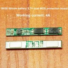 1pcs/lot 18650 Lithium Battery Dual Mos Board 3.7v Side Plus Fitting 1pcs lot ad8366acpz ad8366