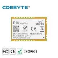 E19-433M30S Lora 장거리 SPI SX1278 433 MHz 1W 우표 구멍 안테나 IoT uhf 무선 송수신기 송신기 수신기 모듈