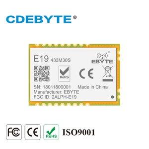 Image 1 - E19 433M30S Lora дальний SPI SX1278 433 МГц 1 Вт штамп антенна отверстия IoT uhf беспроводной приемопередатчик приемник модуль