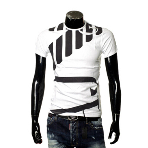 2015 New summer T Shirt Men Brand Design printing Casual short ...