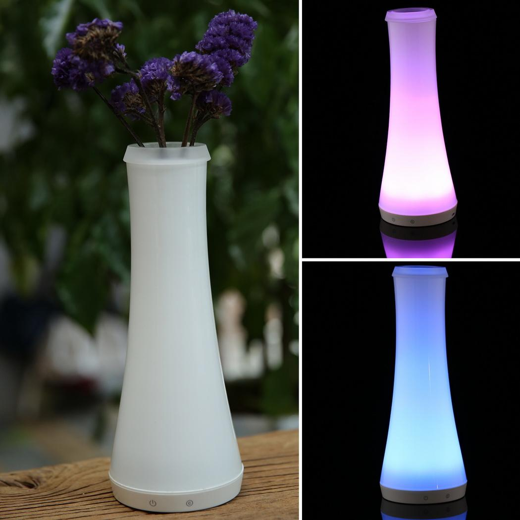 LED Bedside Lamp Towel Shape Sensor Control Dimmable RGB Color Changing Rechargeable Bluetooth Smart Table Lamp N4025 superlight bluetooth led rgb smart light e27 bulb smartphone controlled dimmable color changing lamp for iphone