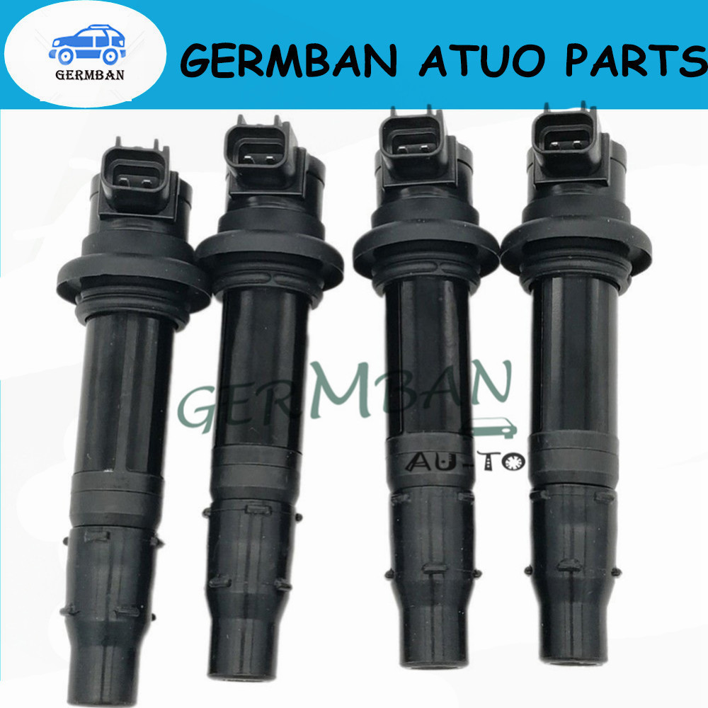 4pcs Ignition Cap Coil 5PW-82310-00-00 5SL-82310-00-00 13S-82310-00-00 For 2002-2017 Yamaha FZ 1 YZF R1 R6 R6S VMX V Max 1700