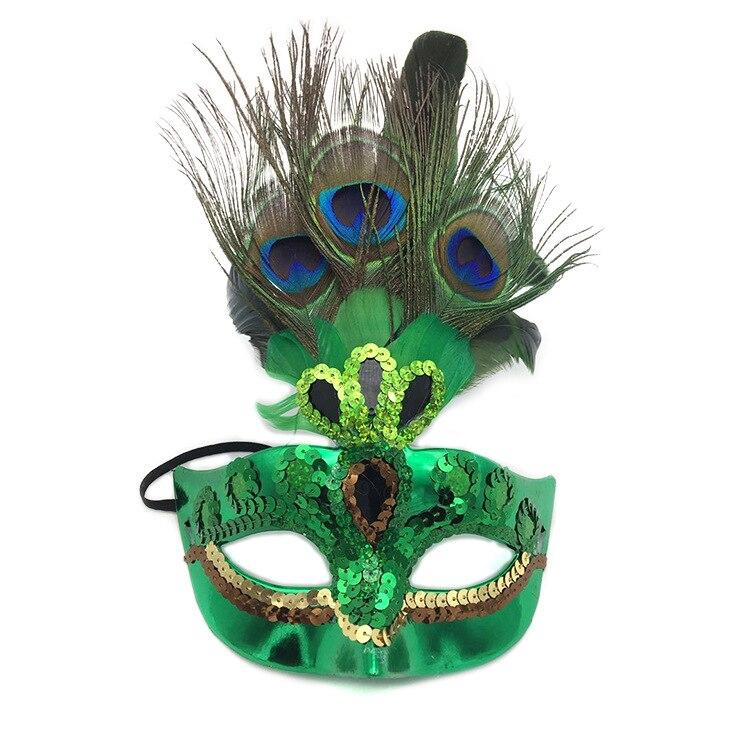 Flight Tracker Mode Pfau Maske Frauen Mädchen Geburtstag Party Cosplay Maskerade Dance Bar Karneval Weihnachten Halloween Halbe Gesicht Auge Maske Auf Der Ganzen Welt Verteilt Werden