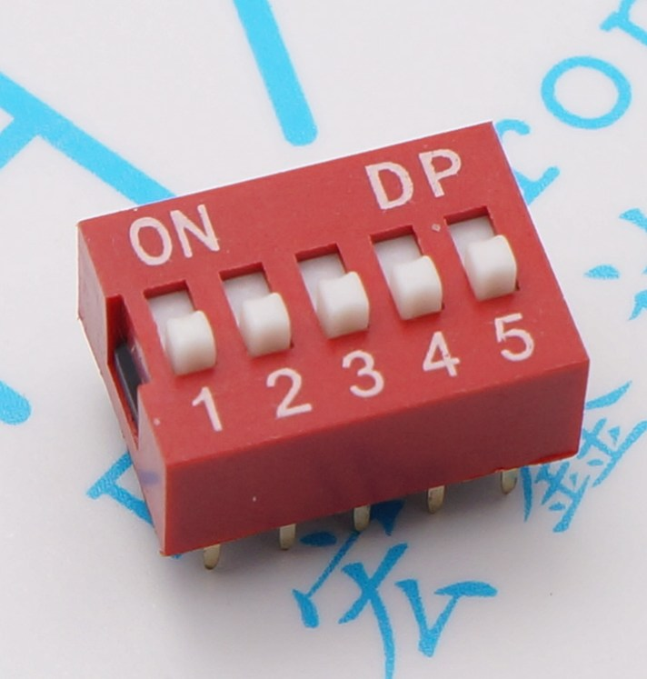 Toggle Switches DIP switch code switch 2.54mm 2P 3P 4P 5P 6P 8P 9P for smart device