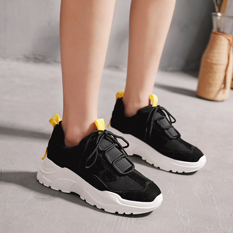Marque allumette rouge Fille Tout Yd Mode Chaussures Respirant Noir blanc ever Sneakers Femelle Automne Femmes Maille Lady Qualité Chausure BgB6IOq7