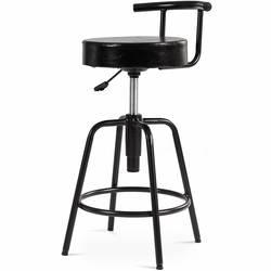 Современный регулируемый барный стул поворотный винтажный барный стул высокий табурет Kithchen PU кожаный бистро мебель для закусочной HW61045