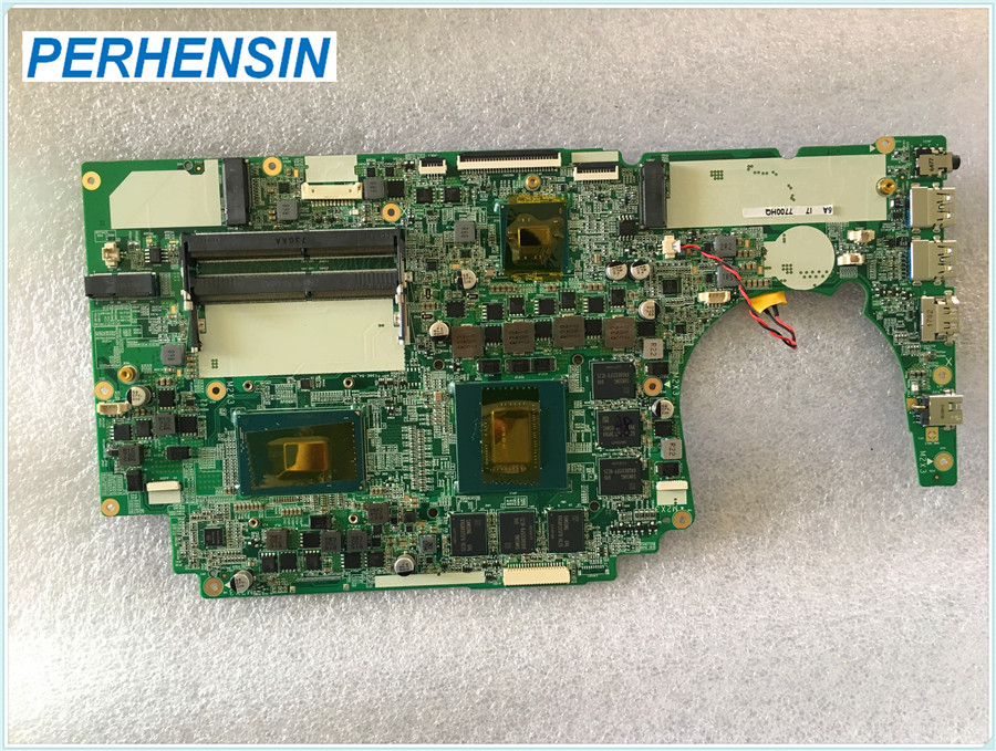 For Razer X36E-5A Laptop Motherboard  I7-7700HQ SR32Q GTX1060M 100% Fully Tested
