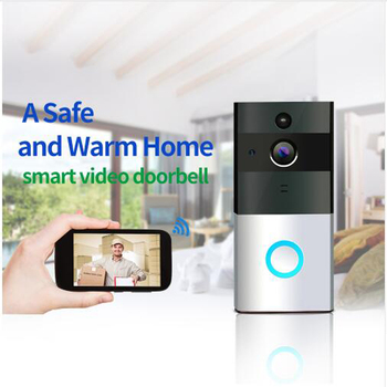 720P IP Camera Smart WIFI Door Bell Wireless Video Door Phone Night vision two way audio waterproof Home security baby monitor