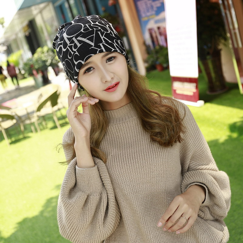 2016 heißer Verkauf Koreanische Version Für Männer Und Frauen Haufen Kappe abdeckung Kopfbedeckungen Doppel Warme Mützen Winter Schal Strickmütze Skullies J6