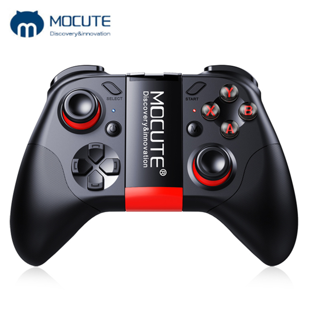 Mocute 054 053 050 Bluetooth Joypad Gamepad Android Joystick Wireless Controller Tablet Smart VR TV Game Pad for iOS PC AndroidMocute 054 053 050 Bluetooth Joypad Gamepad Android Joystick Wireless Controller Tablet Smart VR TV Game Pad for iOS PC Android