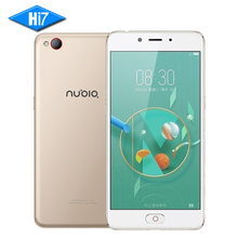"Neue original zte nubia n2 handy mt6750 4 gb ram 64 gb rom vorder 16mp hinten 13mp 5000 mah 5,5 ""Fingerprint 4G LTE Smartphone"