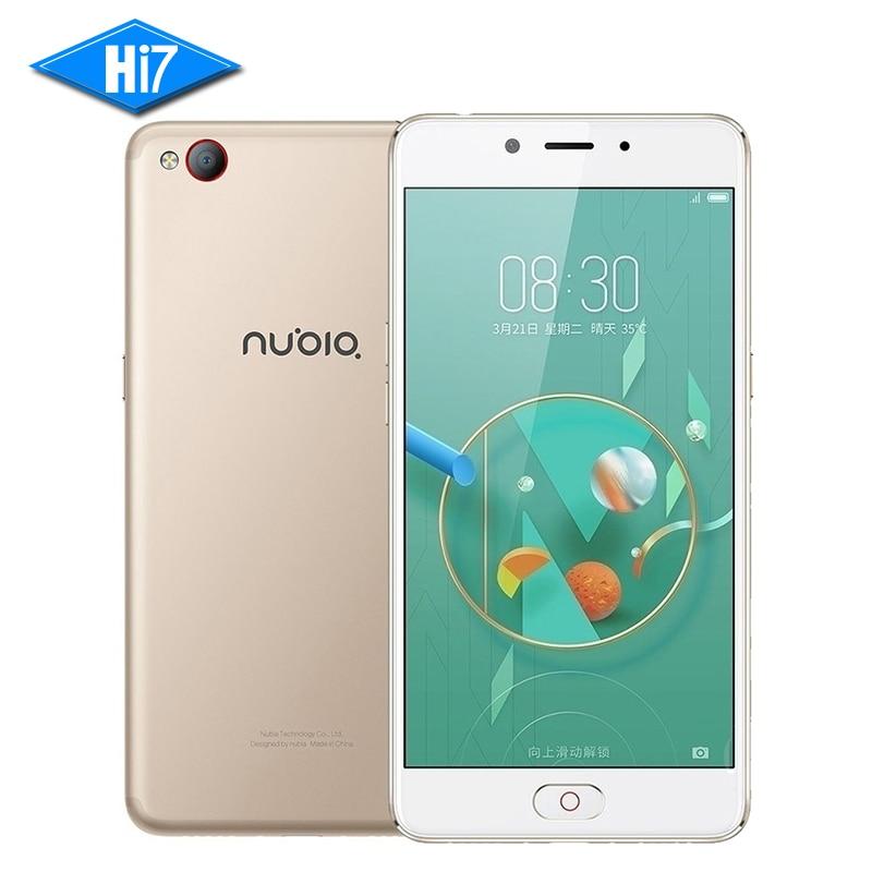 "NEW Original ZTE Nubia N2 Mobile Phone MT6750 4GB RAM 64GB ROM Front 16MP Rear 13MP 5000mAh 5.5"" Fingerprint 4G LTE Smartphone"