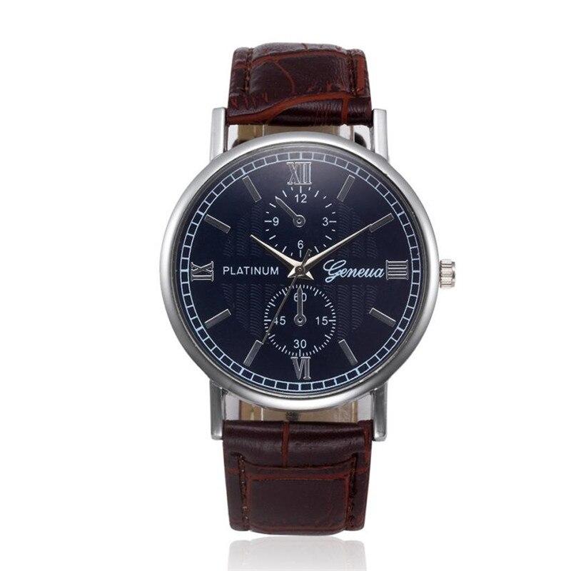 Relogio Masculino Quartz Watch Men Leather Casual Watches Men