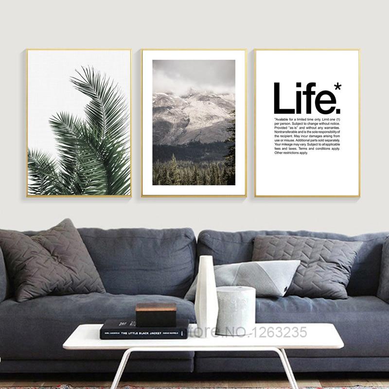 Cactus Desert Scenery Nordic Poster Plantas Carteles e impresiones - Decoración del hogar - foto 3