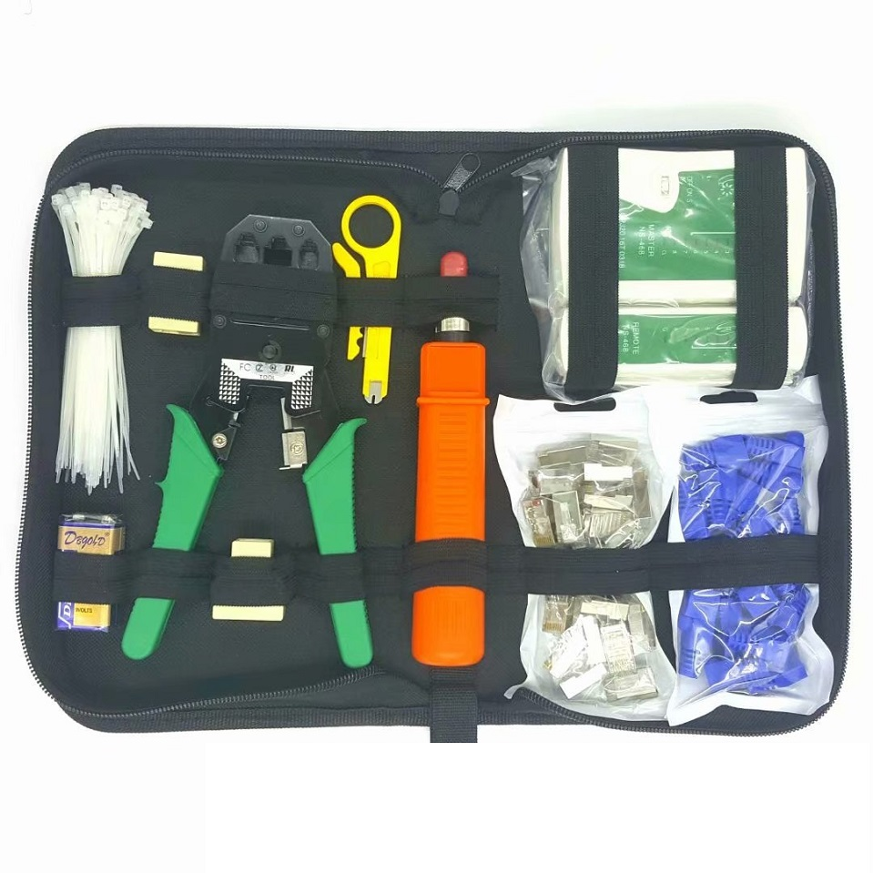 Meijiabuy High Quality 11 Piece Set Household Set Network Kit Set 10 in 1 Network Repair Tool Set Free