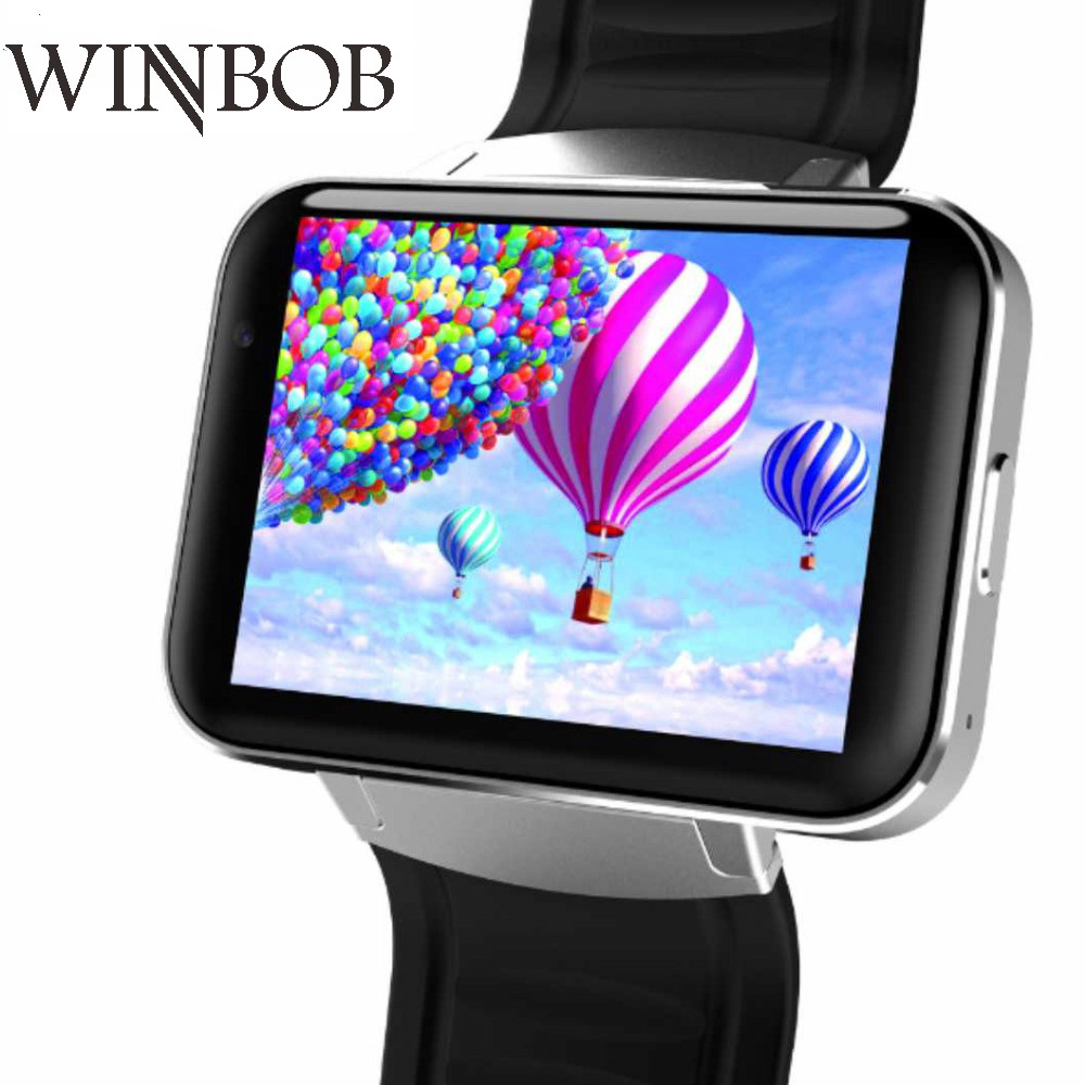 WINBOB Smart Watch MTK6572A 2.2 inch IPS HD 900mAh Battery 512MB Ram 4GB Rom Android OS 2G 3G WCDMA GPS WIFI Smartwatch стоимость