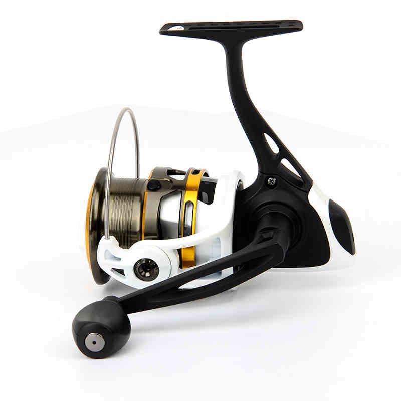 ФОТО Hot sale  2000S Top Quality 2000 Series 9BB Shallow Spool Spinning Fishing Reel 201g 5.2:1 Lure Fishing Reel Free Shopping