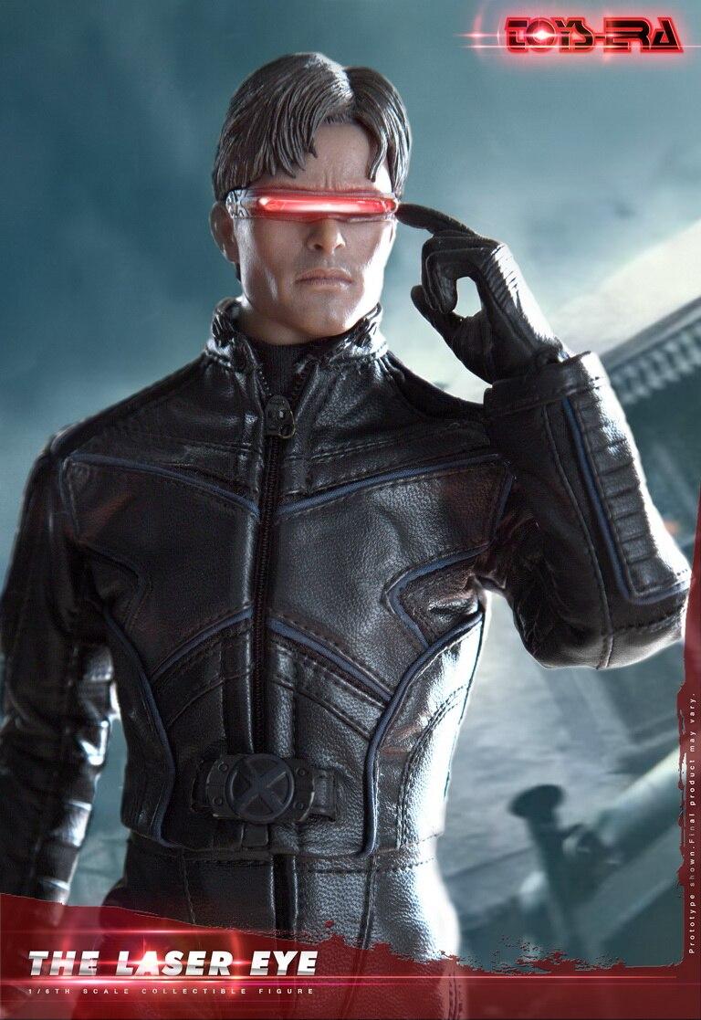 Toys Era 1 6 The Cyclops Laser Eye Figure full set X MEN James Marsdon figure