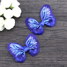 2017 Hot Fairy Fake Butterfly Hairpin Woodland Party Favor Kid Barrette Cute Theme Party Girls Animal Flying Butterfly Hair Clip
