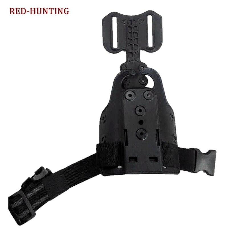 1911/Glock 17 19/M9/USP Universal Safariland Type Drop Leg Gun Holster Platform