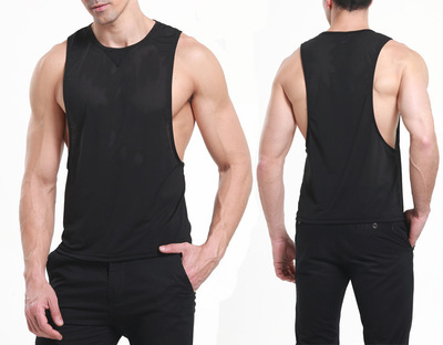 2017 New Mens Summer Nylon Slim Fit Men Tank Tops Clothing ...