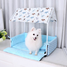 ФОТО Creative Dog Tent Nest Cat Wash Pet Tent House Pet Supplies Big Dog Bed Dog Bed Cama Para Cachorro Cama Perro Kedi Evi