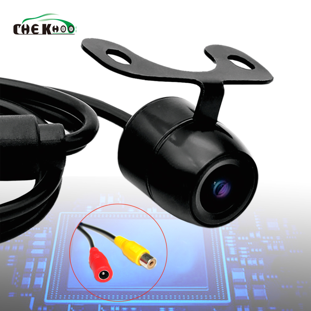 1pcs Car Reverse Camera Backup Parking Cam Universal Rear view HD Color Image Night Version 170 Wide Angle Waterproof