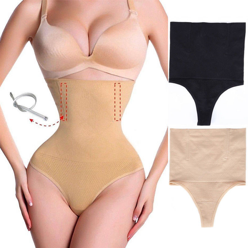2018 Women High Waist Body Shaper Panties Seamless Tummy Belly Control Waist Slim Pants Shapewear Girdle Underwear Waist Trainer