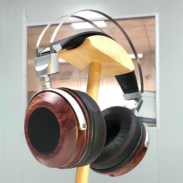 Cao Cấp Hở Lưng Tai Nghe Nhà Ở Trên Tai Tai Nghe Bằng Gỗ Ốp Lưng Vỏ Tai Nghe Bluetooth Ốp Lưng DIY 40MM 50MM 53MM
