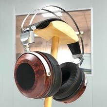 High end açık arka kulaklık konut aşırı kulak kulaklık ahşap durumda kabuk Bluetooth kulaklık kılıfı DIY 40MM 50MM 53MM