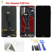 Display For Huawei P20 Pro LCD Display Touch Screen Digitizer Assembly For Huawei P20 Pro Plus LCD CLT L09 L29 AL01 Replacement