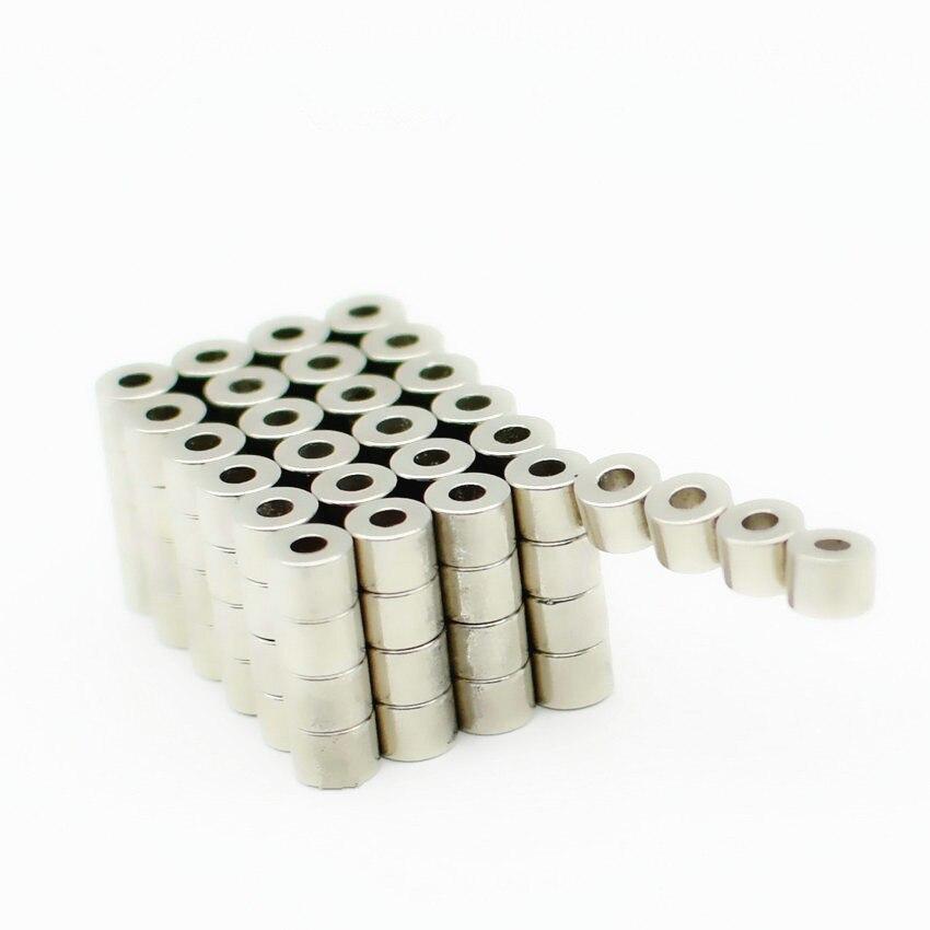 Диаметрально Неодимовый магнит кольцо диаметром. 5,4x2,3x3,9 мм трубки N52 точность ротора неодимовые постоянные Сенсор магниты 100-1000 шт.