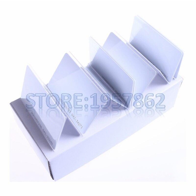 100pcs Smart Card 1k Card RFID IC Card 13.56MHz100pcs Smart Card 1k Card RFID IC Card 13.56MHz