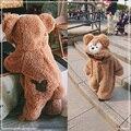 Novo Inverno Queda 0-4A Bonito Duffy Urso Rompers Crianças Macacão Infantil Roupas de Bebê de Pelúcia Com Capuz Pijama Em Casa Em Geral 0061