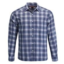 Si* ms Мужская рыболовная рубашка LS клетчатые рубашки быстросохнущие UPF30 УФ дышащие уличные рыболовные рубашки для мужчин размер США S-M продвижение