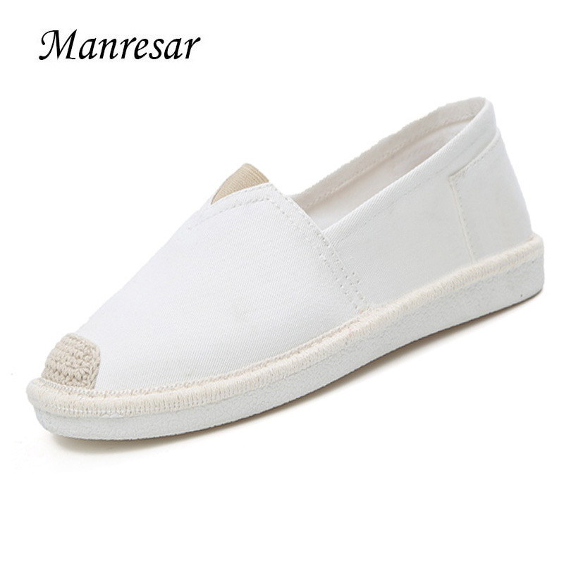 Manresar 2017 New Fashion Spring Summer Women Flats Zapatos Mujer Round Toe Flat Shoes Canvas Shoes Comfortable Sapato Feminino new 2017 spring summer women shoes pointed toe high quality brand fashion womens flats ladies plus size 41 sweet flock t179