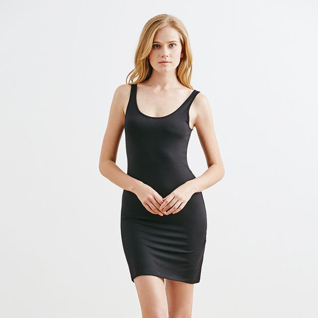 2017 nuevas señoras de las mujeres desliza satén sólido encaje maxi medio slip underskirt slip cintura elástica floja más la ropa interior