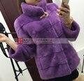 2016 winter new mink coat female Korean version of a short section of the whole mink fur coat mink fur