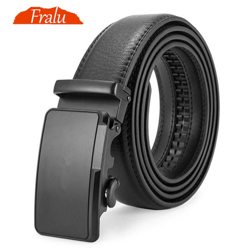 FRALU Male automatic buckle belts for men authentic girdle trend ceinture belt