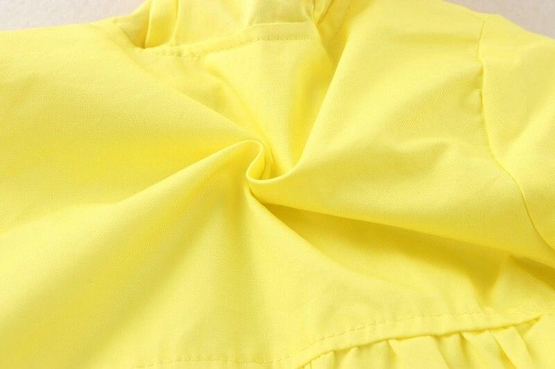 primavera outono manteau fille blusão kf255