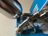 HVLP SPRAY GUN W 101 Air Spray Gun Hand Manual Spray Paint Gun Sprayer 1 0