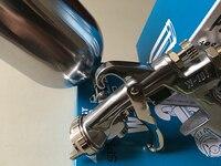 HVLP W-súng phun không khí tay manual súng phun sơn, sơn máy phun, 1.0/1.3/1.5/1.8, airbrush, aerograph không khí SÚNG PHUN SƠN