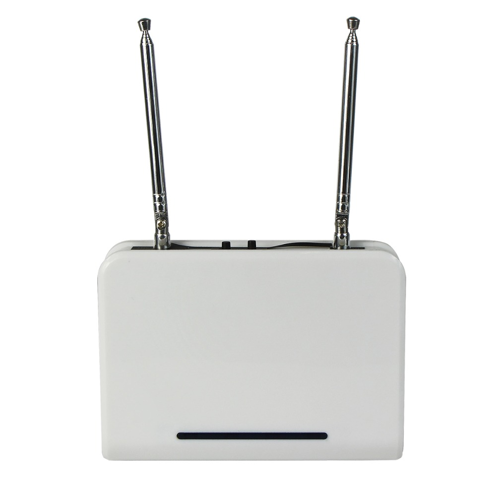 For Wireless Calling Paging System 433.92MHz RF Signal Repeater Amplifier Learning Code Extender For Wireless Receiver F3302B wireless service calling system paging system for hospital welfare center 1 table button and 1 pc of wrist watch receiver