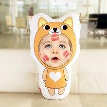 New Hot Photo customization Chinese Zodiac Cushion Dolls Stuffed Animal Pillow Sofa Car Decorative Creative Birthday Gift
