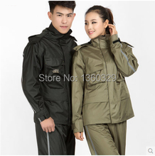Fashion Burberry Qualiy Woman Man Hooded Raincoat Pants Set Bicycle Motorcycle Winter Rainwear Outdoor Camping Waterproof