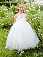 Мода Кот маленькие девочки платья со стразами элегантный дети девушки Театрализованное Платье формальный свадебные платья девушки цветка