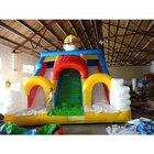 <+>  Батутные детские гигантские надувные игры Bounce slide kids ✔