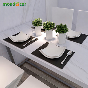 Image 2 - 3M/5M/10M Modern Waterproof Vinyl Self adhesive Wallpaper Marble Contact Paper Kitchen Cupboard Shelf Drawer Liner Wall Stickers