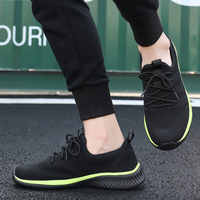 Men Running Shoes Male Lightweight Walking Men Athletic Trainers Sneakers Breathable Outdoor Sport Shoes Hombre Zapatillas